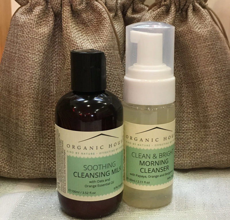 Organic House Cleansers Duo - Olympia Beauty Online Store