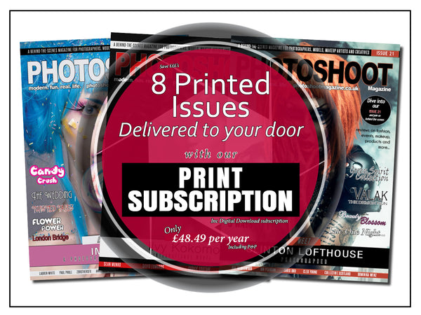 1 Year Print Subscription - Olympia Beauty Online Store