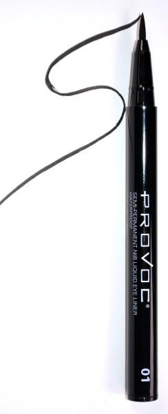 LITTLE BLACK DRESS | SEMI-PERMANENT NIB LIQUID EYE LINER - Olympia Beauty Online Store