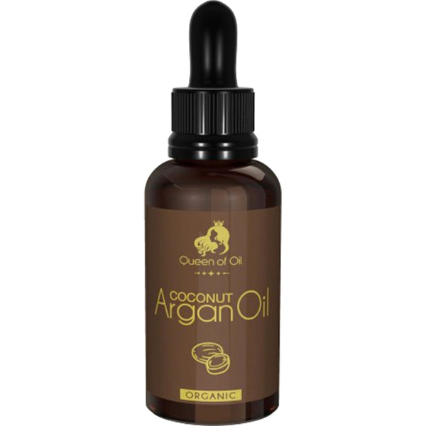 100% Pure Argan Oil with a Hint of Coconut Fragrance