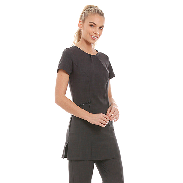 Roma Tunic Dark Grey - Olympia Beauty Online Store