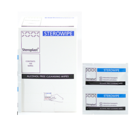 Sterowipe Alcohol-Free Cleansing Wipes