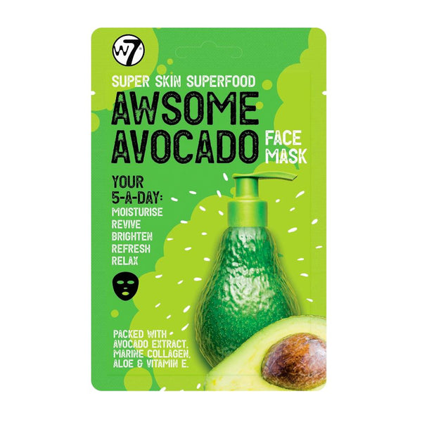 w7 Super Skin Superfood Avocado Face Mask
