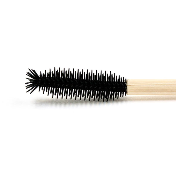 Disposable eco straight with tip silicone mascara wand (25 per pack) 110mm - Olympia Beauty Online Store