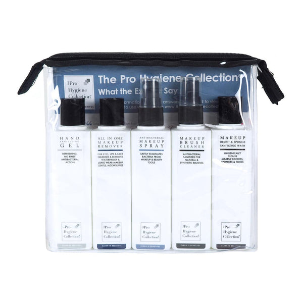 The Pro Hygiene Collection - Discovery Kit with Travel Bag (5 x 100ml) - Olympia Beauty Online Store