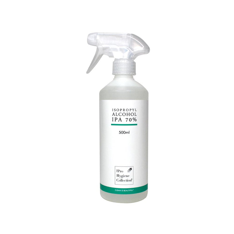 The Pro Hygiene Collection - Isopropyl Alcohol/Rubbing/Cleaning Alcohol (IPA 70%) 500ml - Olympia Beauty Online Store