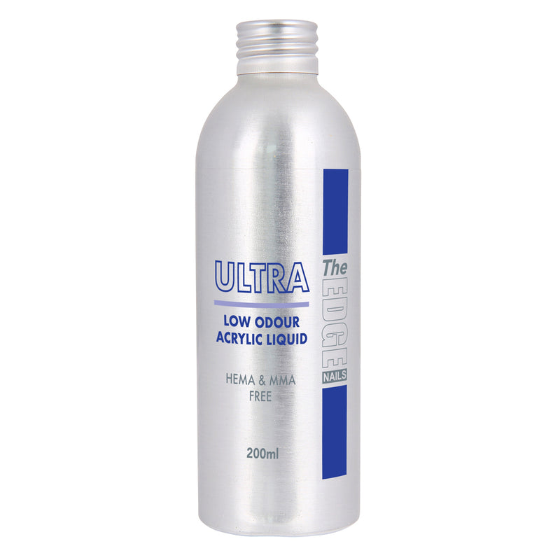 The Edge Ultra Low Odour Acrylic Liquid 200 Ml - Olympia Beauty Online Store