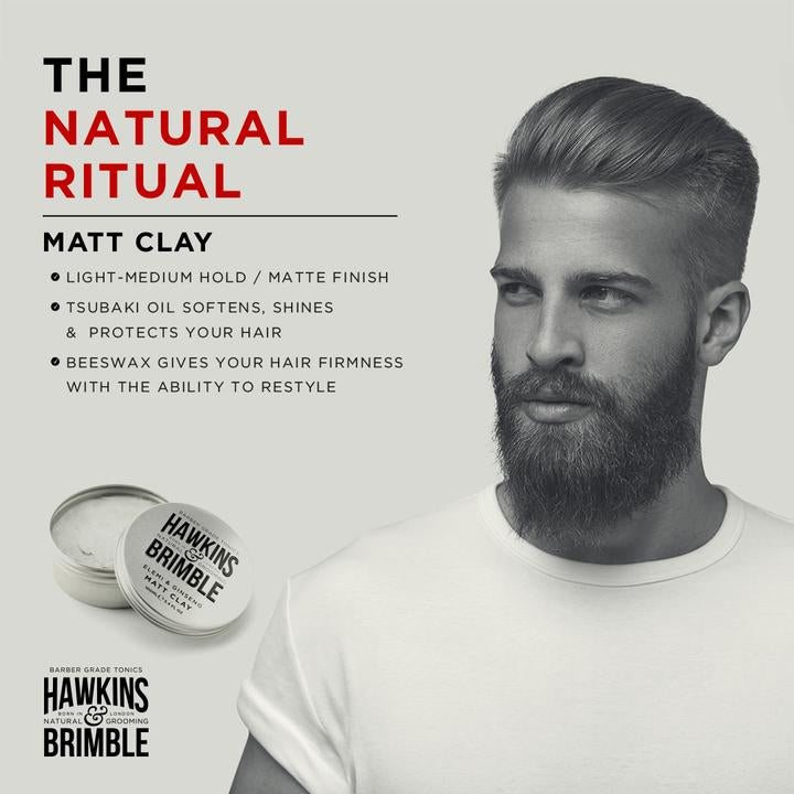 MATT CLAY 100ML (LIGHT-MEDIUM HOLD WITH RESTYLABILITY) - Olympia Beauty Online Store