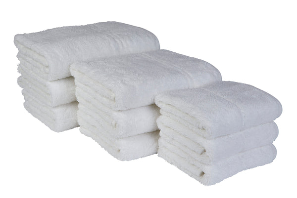 EcoKnit 550gsm Towels (White)