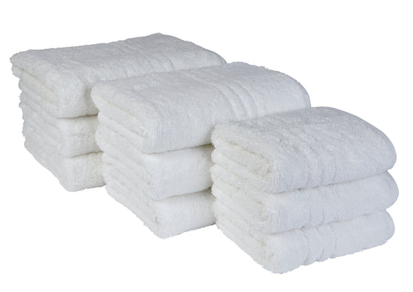 EcoKnit 650gsm Towels (White)