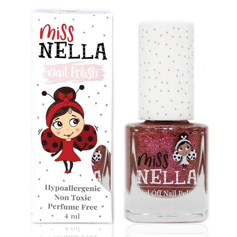 Shazam Glitter 4ml Peel off Kids Nail Polish - Olympia Beauty Online Store