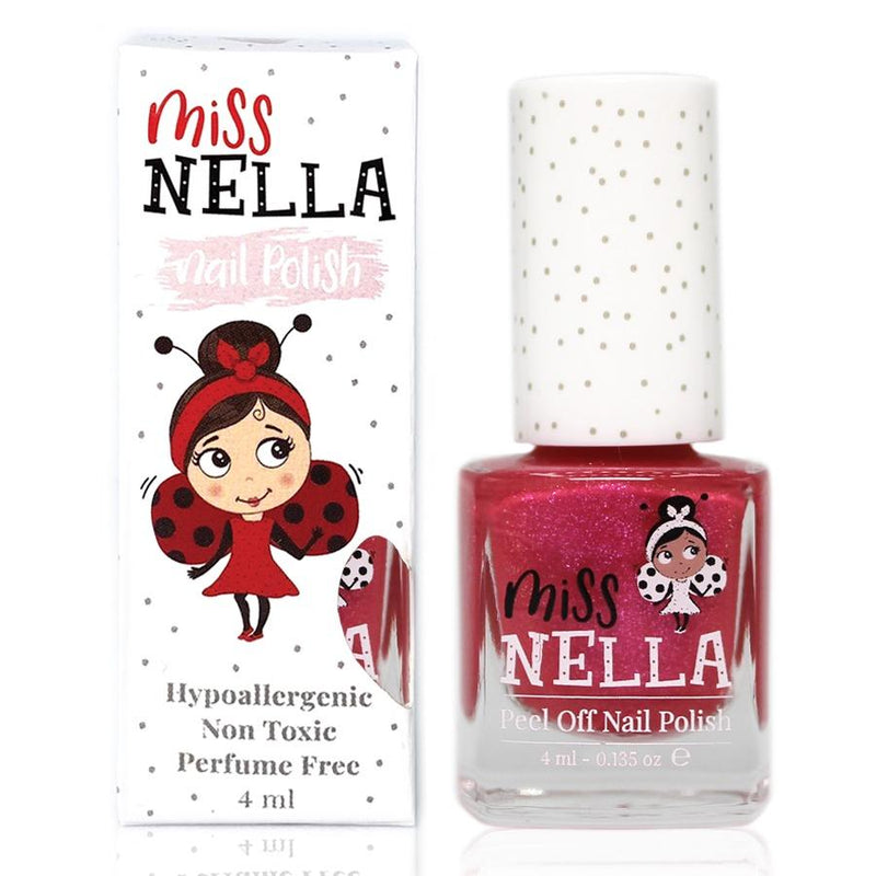 Tickle Me Pink Glitter 4ml Peel off Kids Nail Polish - Olympia Beauty Online Store