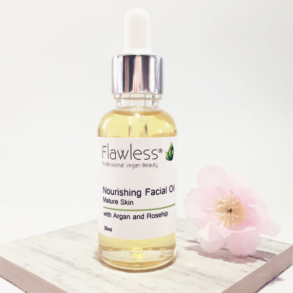 Nourishing Facial Oil with Rosehip, Argan and Neroli - 30ml