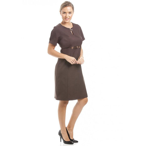 Abela Dress Chocolate - Olympia Beauty Online Store