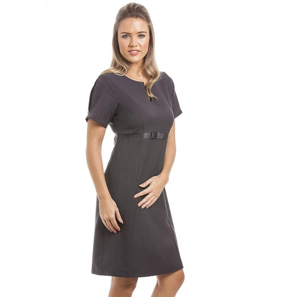 Abela Dress Dark Grey - Olympia Beauty Online Store