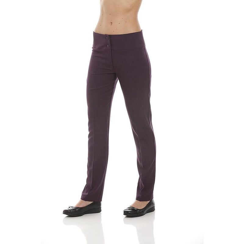 SUPER SKINNY Trousers Aubergine - Olympia Beauty Online Store