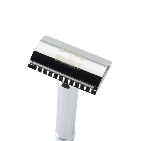 TRADITIONAL METAL SAFETY RAZOR - Olympia Beauty Online Store