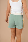 Sporty Stripe Shorts In Mint