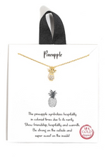 Dole Out the Charm Pineapple Necklace