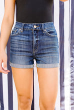 Long Hot Summer Cuffed Shorts