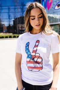 Peace In America Graphic Tee