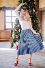 Pretty Pleats Platinum Skirt