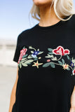 Rooftop Garden Embroidered Tee