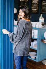 Sumptuously Soft Charcoal Top