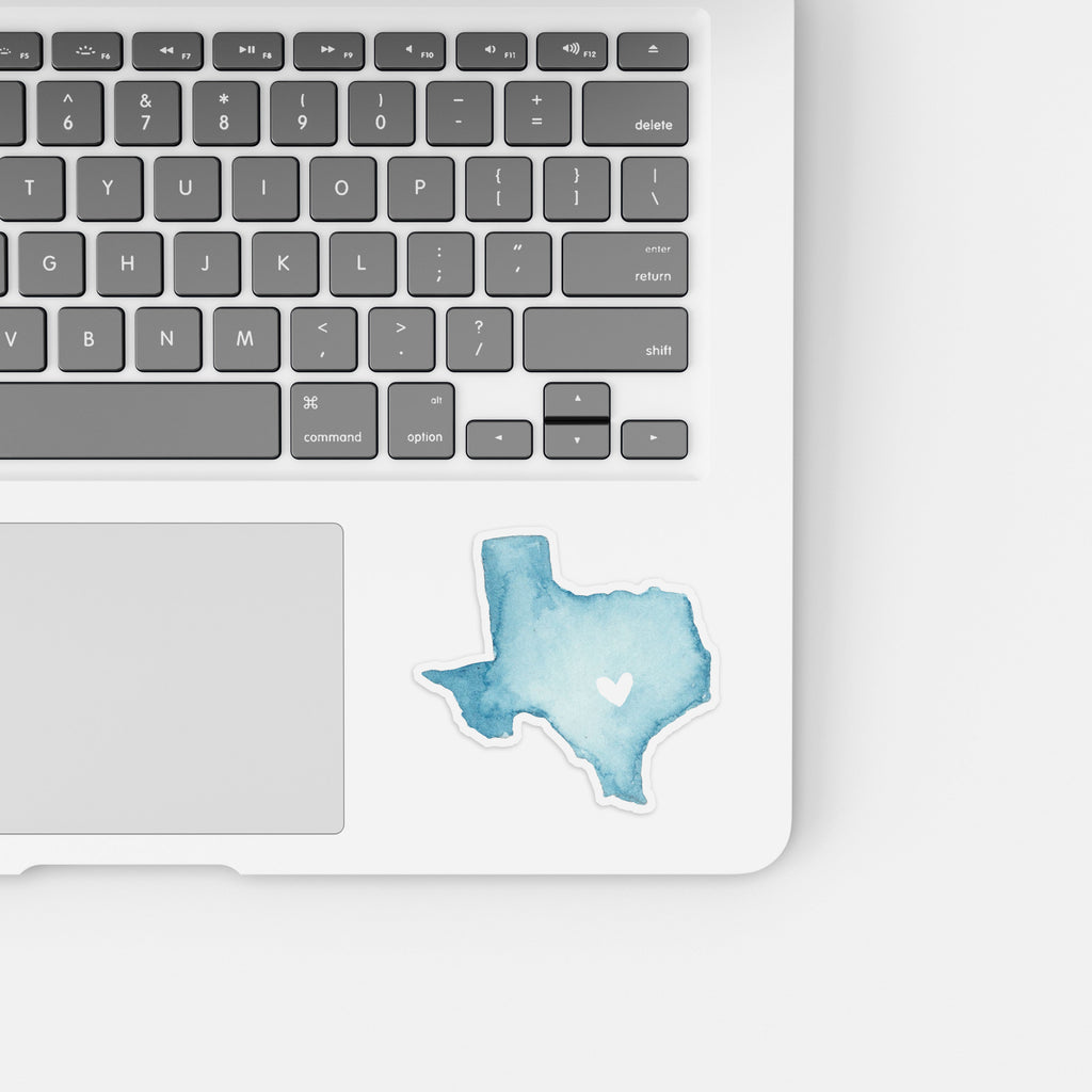 Vinyl Texas State Sticker, Texas Stickers, Texas Decal, Southwest Stickers, AustinTexas Sticker, Water Bottle Sticker, Laptop Stickers