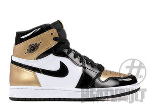 Air Jordan 1 Retro High NRG Patent Gold Toes