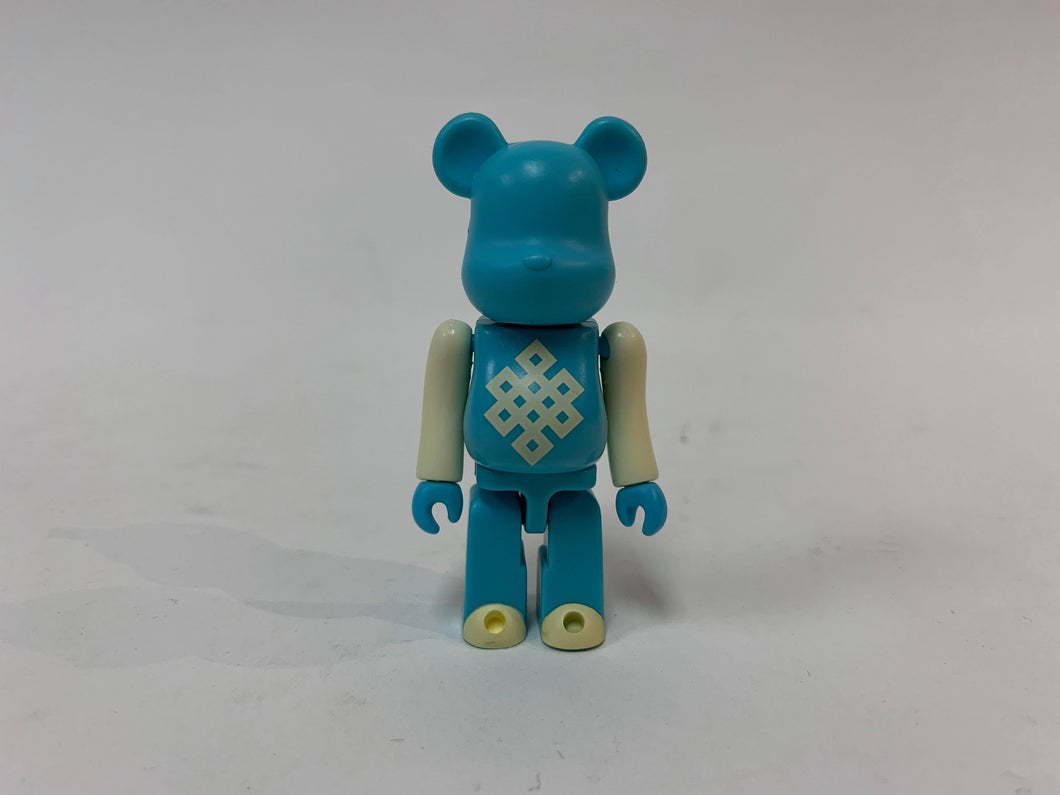 BEARBRICK 100% 2002 NENDO TOKYO TOY LAB TEAL