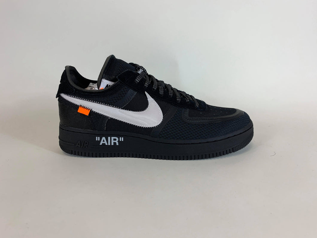 OffWhite Nike Air Force 1 Black