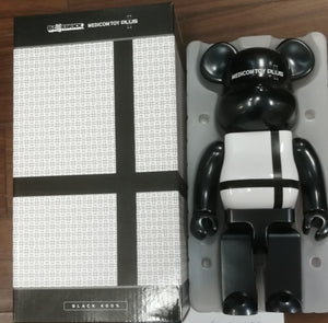 Bearbrick Medicom Toy Plus 400% Black