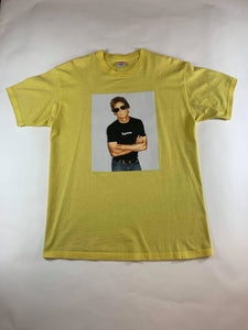 Supreme Lou Reed Yellow T-Shirt