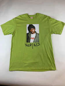 Supreme Nas Lime Green T-Shirt