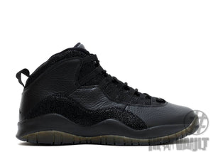 Air Jordan 10 OVO Black