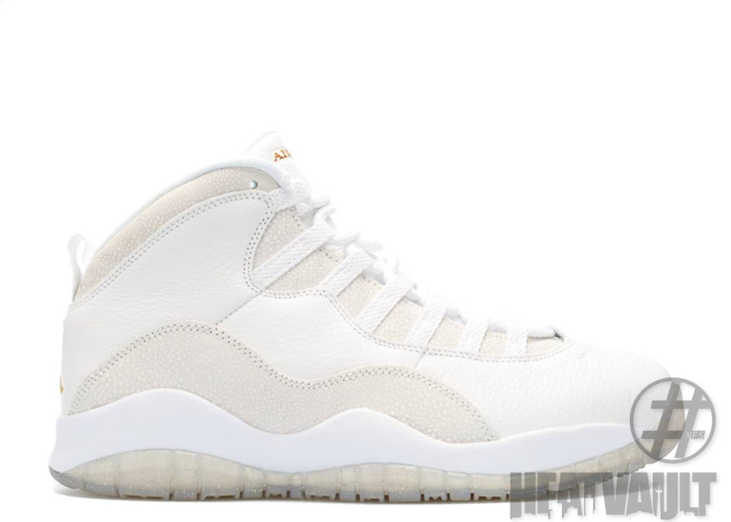 Air Jordan 10 OVO White