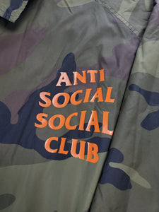 Assc Green Camo Coach Jacket