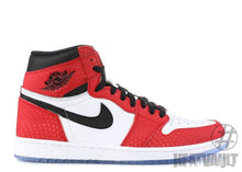 Load image into Gallery viewer, Air Jordan 1 Retro High Spider-Man Origin Story - Size 9.5, Condition Excellent