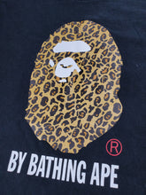 Load image into Gallery viewer, Bape Tee Leopard Camo