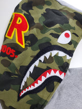 Load image into Gallery viewer, Bape PONY Shark Hoodie Gray
