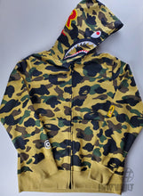Load image into Gallery viewer, Bape Shark Yellow Goretex