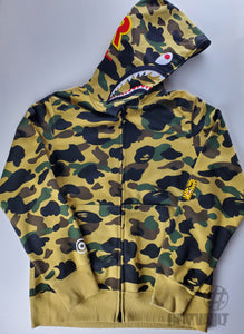 Bape Shark Yellow Goretex