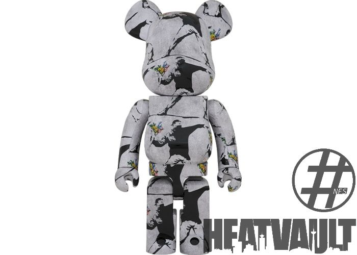 Bearbrick Flower Bomber 1000%