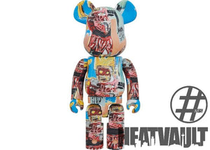Bearbrick JEAN-MICHEL BASQUIAT # 6 1000%