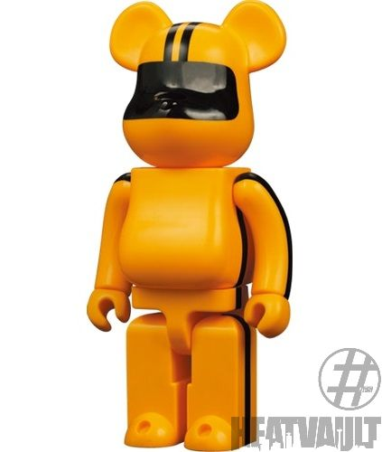 Bearbrick Kill Bill 400% Yellow