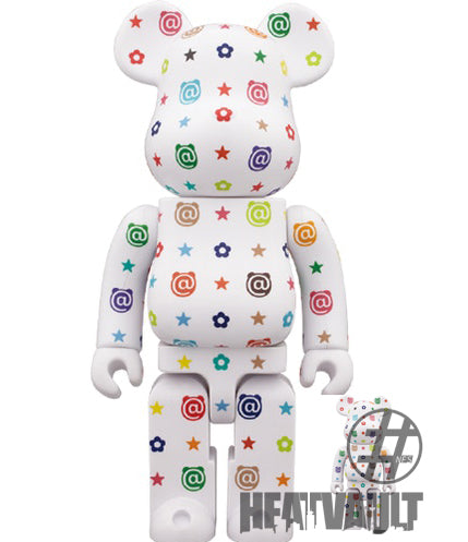 Bearbrick Multicolor 400% AND 100%