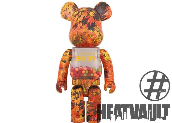 Bearbrick My First Bearbrick Baby Autumn Leaves 1000%