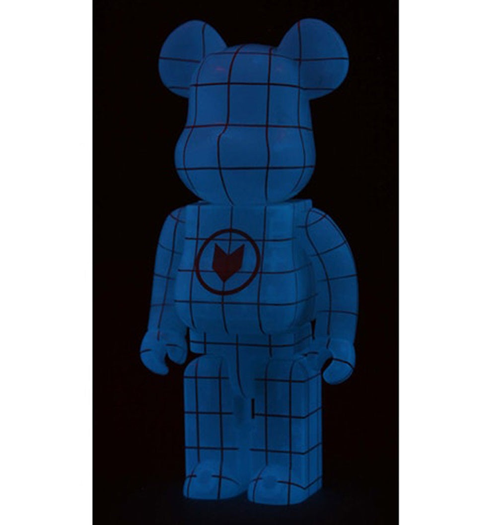 Bearbrick 400% NORT Glow In the Dark