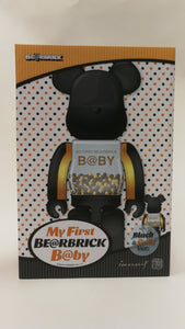 Bearbrick 100%/400% Innersect Black-Gold